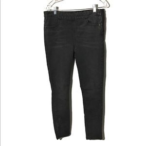 Free people High Rise Skinny Black Jeans Size 10